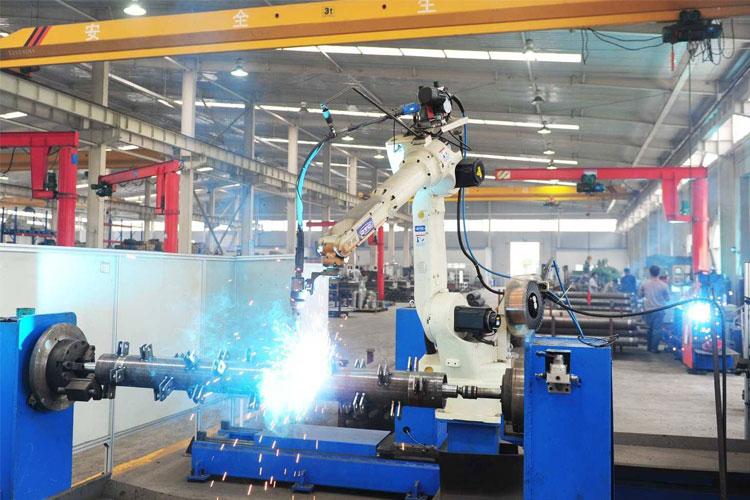 陕西工业机器人的应用和发展